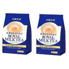 NITTOH KOCHA ROYAL MILK TEA Hot Cold 10 sticks ×2 Set with tracking
