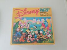 RARE NEW Vintage Golden Disney Fantasy Puzzle 300 Piece Mickey Minnie Mouse