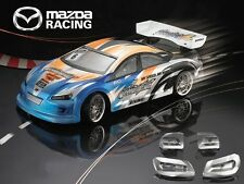 1/10 Mazda Racing 190mm RC Car Transparent Body Strong Polycarbonate