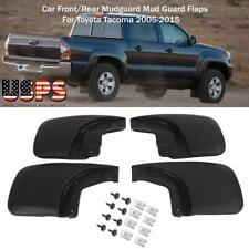 4PCS Car Front/Rear Mudguard Mud Guard Flaps For Toyota Tacoma 2005-2015 US