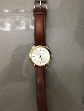 Michael Kors MK2259 Slim Runway Brown Leather Ladies Watch