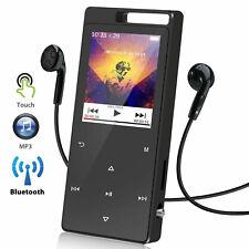 Mini Portable Mp3 Music Player Mp4 Media Bluetooth Fm Radio Hi-Fi Lossless Sound