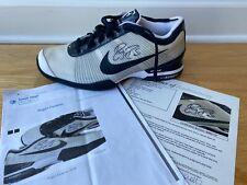 Roger Federer Promo Sample Signed Autographed 2009 ATP Finals shoe Oreo w COA