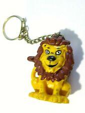 Yellow Lion Plastic Vintage Key Chain