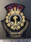Royal Canadian Navy Association - Windsor Bullion Blazer Crest Canada: Modern - 25552