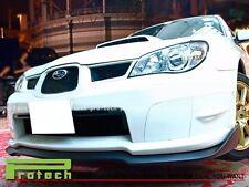 STI STYLE CARBON FIBER FRONT BUMPER LIP FOR 06-07 SUBARU IMPREZA WRX / STI GDF