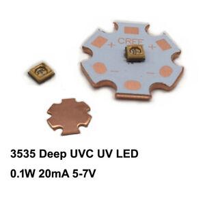 High Power 3535 275-280nm 0.2W Deep UV LED Ultraviolet Violet light LED Diode