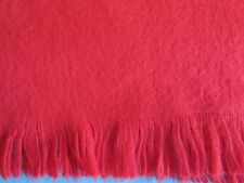 """Quality short red men's scarf 10"""" Wide x 50"""" long"""