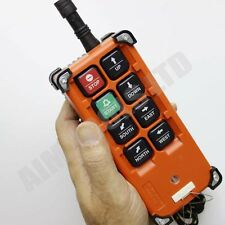 990716 8 Keys Transmitter & Receiver Hoist Crane Radio Wireless Remote Control