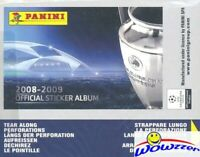 2008/09 Panini Champions League Stickers HUGE 50 Pack Sealed Box-250 Stickers!