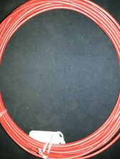 14 Awg 19 Strand M16878/4-14-2 Red, Silver Plated,  Teflon Insulated  25 ft Hank
