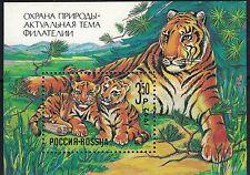 Russia SCB185 Tiger&Cubs MNH 1992