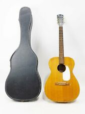 Vntg Barclay H162 by Harmony Acoustic Guitar w/ Case