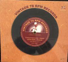 Vintage 78rpm Records CD Box Set.  Ustad Busmillah Khan. NEW. STILL SEALED.
