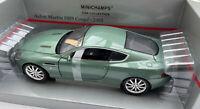 MINICHAMPS 150 137322 Aston Martin DB9 coupe diecast model road car green 1:18th