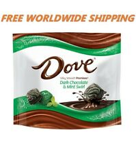 Dove Promises Dark Chocolate and Mint Swirl 7.61 Oz FREE WORLDWIDE SHIPPING