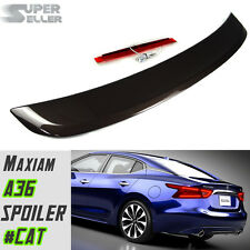 Painted For Nissan Maxima 8th A36 4D OE Type Rear Trunk Spoiler #CAT