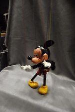 """VTG Mid-60s Puppet  MICKEY MOUSE 10"""" Marionette~Felt Ears Made in England Pelham"""