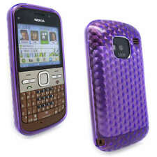D Purple Jelly Case Cover Gel for Nokia E5-00 E5 +SP