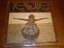 Neil Young LP Decade AUTOGRAPHED