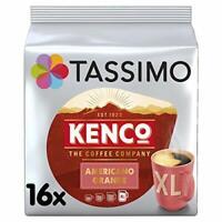 Tassimo Kenco Americano Grande Coffee Pods (Pack of 5, 80 pods in total, 80...