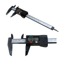 """Vewerk 2586 6"""" 150mm Digital LCD Micrometer Caliper Vernier Measuring Tool New"""