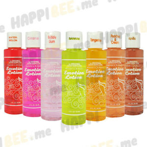 Emotion Lotion💕Flavored Kissable Edible Warming Massage Foreplay Oil Lotion USA