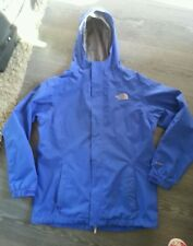 The North Face Ladies Hooded Waterproof Hyvent Jacket  Blue sz XL  18