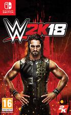 WWE 2K18 (Wrestling 2018) Nintendo SWITCH TAKE TWO INTERACTIVE