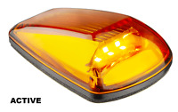 LED SIDE DIRECTION INDICATOR LIGHT with AMBER LENS CAT 6 - 77AM2