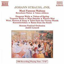 Ondrej Lenard, J. Strauss - Most Famous Waltzes [New CD]