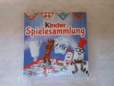 "FERRERO ""kinder""-Spielesammlung - Entertainment for you – NEU & OVP"