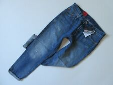 NWT Levi's 501 CT in Darn and Dusted Destroyed Selvedge Boyfriend Crop Jeans 26