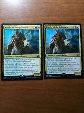 2 Knight Of The Reliquary. Iconic Masters. Near Mint- M. Free Shipping.