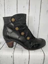 Spring Step L'Artiste Belguard Black Boots Women EU 39