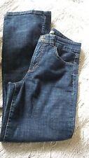 Nine West Size 12 Waist 30 Dark Indigo Blue Jean Excellent!