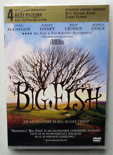 Big Fish (Dvd, 2004) Ewan McGregor Albert Finney Billy Crudup Jessica Lange New