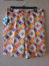 LOUDMOUTH MEN'S HAVERCAMPS SIZE 40 GOLF SHORTS (NWT)