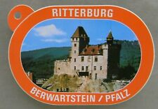 1x Sticker - Decal Ritterburg Berwartstein / Pfalz with org.back 80's (07092)