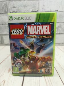 LEGO Marvel Super Heroes Xbox 360 - Free Postage, home gaming, with manual