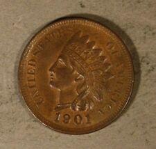 1901 Indian Head Cent High Grade               ** Free U.S. Shipping **