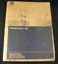 Caterpillar Challenger 65 Tractor Parts Manual Book Catalog 7YC1-Up SEBP1616 CAT