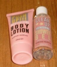 Clean Up - Refreshing Shower Gel and Moisturising Body Lotion Travel Set