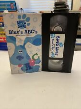 Blue's Clues Blue's ABC's TEACHER'S EDITION Nickelodeon Nick Jr VHS TESTED PROMO