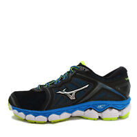 Mizuno Wave Sky [J1GC170205] Men Running Shoes Black/Silver-Blue-Volt
