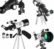 Gskyer Telescope German Technology Astronomy Telescope Travel Refractor AZ70400