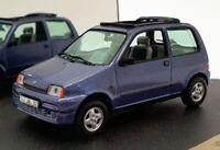 Vitesse 1/43 Scale V095D - 1996 Fiat Cinquecento Soleil - Metallic Blue