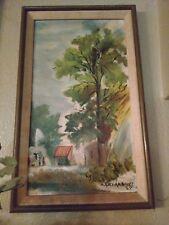 Andree Archambault original painting 1967