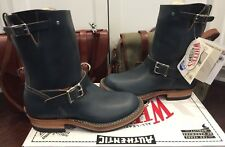 Limited Edition White's Nomad Engineer Boots NAVY Blue Horween Chromexcel 11 D