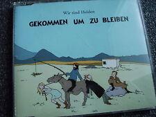 Wir sind Helden-Gekommen um zu bleiben Maxi CD-Germany